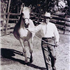 The late and great breeder Frisco Mari pictured here with *Szarza.