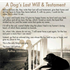 Prose about a Dog's Last Will and Testament