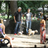 Bill Clinton has father-son bonding time with pregnant Chelsea's husband Marc as they walk their dogs in New York City  Read more: http://www.dailymail.co.uk/news/article-2718134/Bill-Clinton-father-son-bonding-time-pregnant-Chelsea-s-husband-Marc-walk-